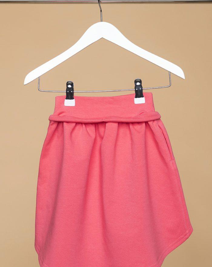 LONger Back skirt CORAL