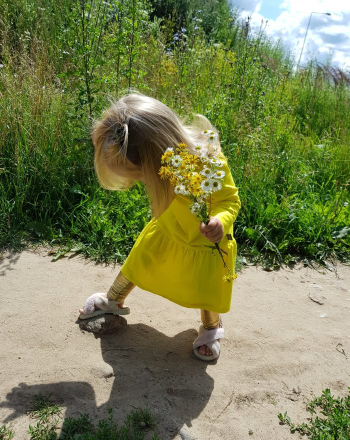 Dress LOVELY YELLOW