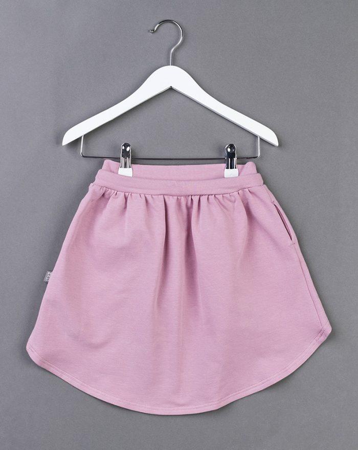 Longer back skirt PINK