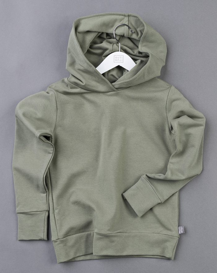 Hooded top KHAKI